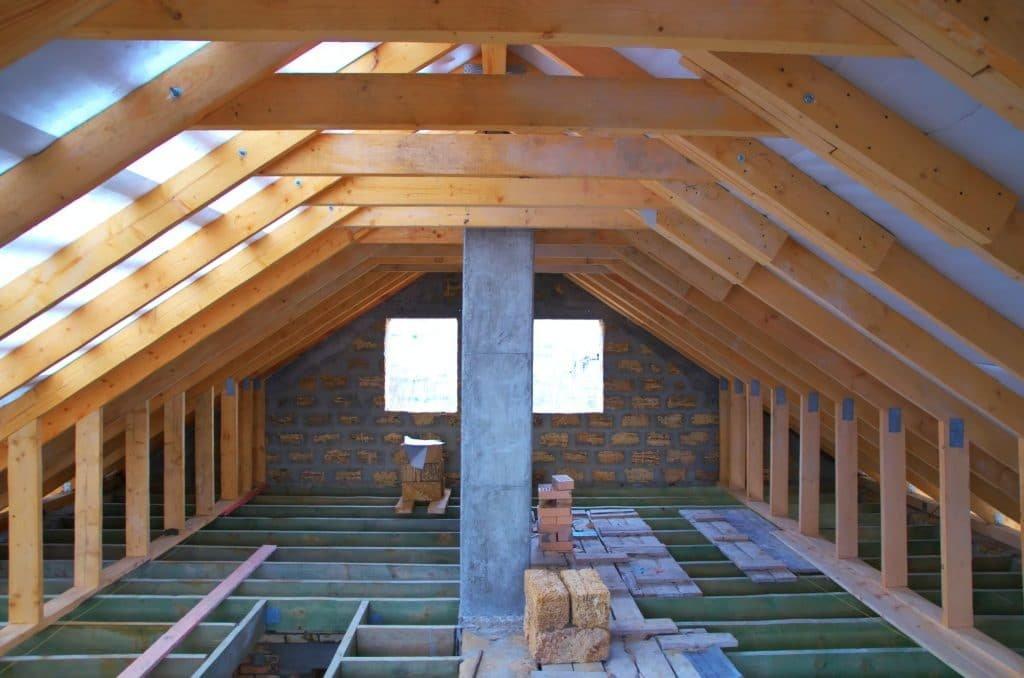 Repair of the attic